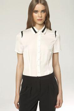Koszula z krótkim rękawem K41 - Sklep Dotti.pl