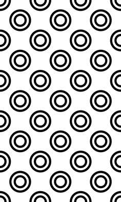 Buy 40 Seamless Circle Patterns by DavidZydd on GraphicRiver. Patterns Background, Polka Dot Background, Black And White Background, Dot Pattern Vector, Circle Pattern, Pattern Art, Pattern Designs, Monochrome Pattern, Black White Pattern