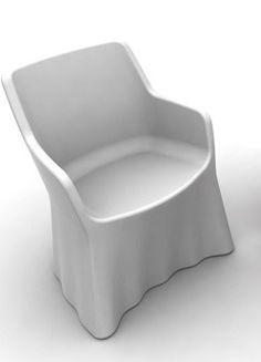 "Domitalia ""Phantom"" Outdoor Plastic Chair"