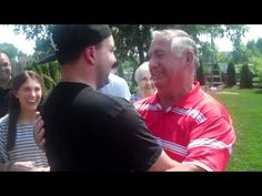 U.S. Airman, Home After 14 Months Deployed, Surprises His Grandpa