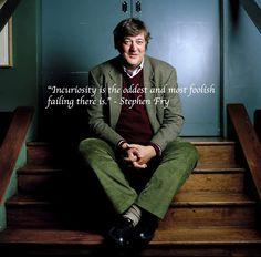 Stephen Fry, you beautiful, beautiful man.