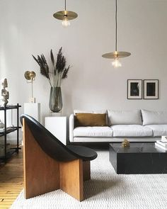 Minimalist Apartment Design With Perfect Furniture 21 Simple Apartment Decor, Apartment Interior Design, Modern Interior Design, Interior Design Living Room, Living Room Designs, Minimalist Apartment, Minimalist Home Interior, Minimalist Decor, Design Salon