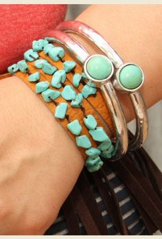 SPIRIT BEADED STRETCH CUFF - Junk GYpSy co.