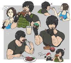 Carlos Resident Evil, Resident Evil Anime, Resident Evil Girl, Resident Evil 3 Remake, Zombie Apocalypse Survival, Jill Valentine, Memes, Kirito, Blade Runner