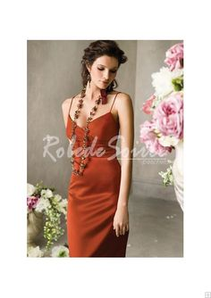 Robe de Soirée Longue-Beaux vêtements robe de soirée pas cher