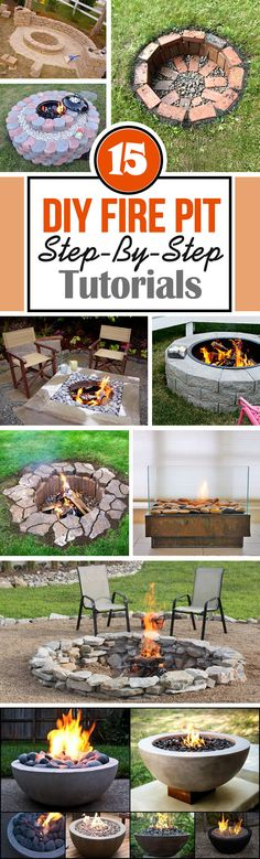 15 Best DIY Firepit Ideas