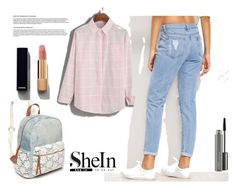"""Shein"" by arika-467 ❤ liked on Polyvore featuring Red Camel, Chanel and MAC Cosmetics"