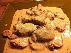 Filet de mignon de porc sauce madère thermomix