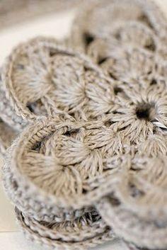 Linen crochet.