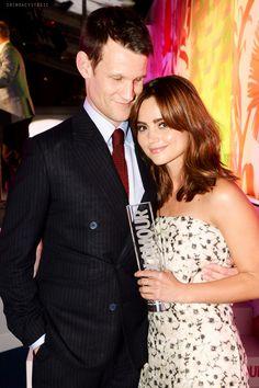 Matt Smith and Jenna Coleman June 3, 2014/A Doctor a Day Cute♡♡♡♡♡