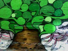Graffiti Tree by countercharm on DeviantArt Wild Style, Graffiti, Deviantart, Landscape, Brutalist, Painting, University, Google Search, Scenery