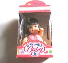 Vintage Hasbro Love-A-Bye Doll  Unopened Original in Box 1987