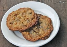 Galley Cookies (thin, chewy, crispy cookies with chocolate, pretzels, and candy) | The Well-Cooked Life