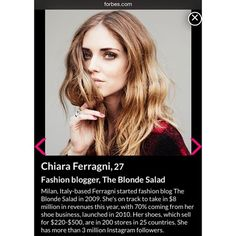Chiara Ferragni, Founder of The Blonde Salad Bad Hair, Hair Day, 30 Under 30, The Blonde Salad, Fashion Photography Inspiration, Studio Shoot, Catwalks, Vogue Fashion, Messy Hairstyles