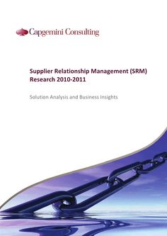 capgemini-srm-research-2010-2011 by Robbert den Braber via Slideshare