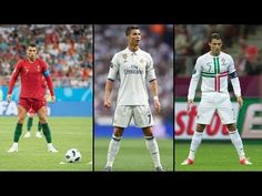 Cristiano Ronaldo Great Goals Longshots, Headers, Free Kicks