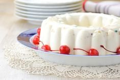 Receta de Gelatina De Yogurt.