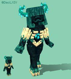 Que pensez-vous de la femme du Warden ? Images Minecraft, Minecraft Mobs, Minecraft Drawings, Minecraft Real Life, Minecraft Anime Girls, Minecraft Awesome, Minecraft Funny, Sucubus Anime, Minecraft Skins Aesthetic