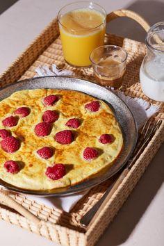 Proteines palacsinta recept | Street Kitchen Waffles, Pancakes, Green Kitchen, Protein, Food To Make, Brunch, Pie, Homemade, Street