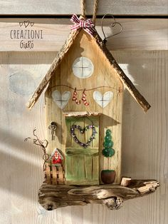 Easter Crafts, Wood Crafts, Diy And Crafts, Crafts For Kids, Arts And Crafts, Pintura Country, Country Paintings, Diy House Projects, Paper Clay