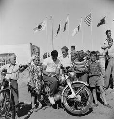 Helsingin olympialaiset 1952. Argentiinalainen urheilija...