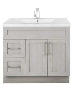 Classic Collection Vanity in Meadow's Cove (Shaker Style) Also Available in colours: Fossil, Karoo Ash, Fogo Harbour, Veil of Mist 60 Inch Vanity, 36 Vanity, Vessel Sink Vanity, Vanity Drawers, Modern Vanity, Contemporary Vanity, Double Vanity, Vanity Cabinet, Bathroom Renos