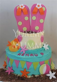 Google Image Result for http://yummymummycupcake.co.za/wp-content/gallery/kiddies-themed-birthday-cakes/ym-beach-cake_0.jpg