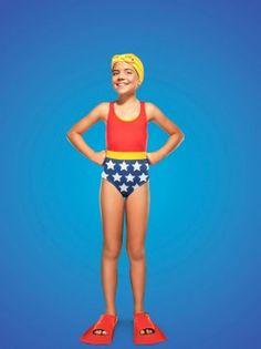 Francisco de Deus Photography Every super hero wears a bathing suit. #kids #conceptual #wonderwoman #funny #empowering