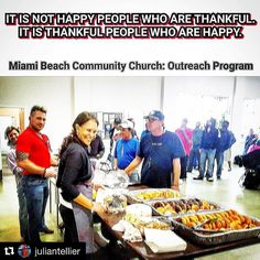 #Repost @juliantellier with @repostapp  IF YOU'D REALLY LIKE TO CHANGE YOUR DAY OVERALL PERSPECTIVE OF LIFE GAIN AN APPRECIATION FOR THE SMALL THINGS AND MAKE A DIFFERENCE IN YOUR COMMUNITY THEN VOLUNTEERING YOUR TIME AND SERVICE TO THE LESS FORTUNATE IS WHERE IT'S AT. IT'S THE PERFECT WAY TO START YOUR MORNING AND IT'S A HUMBLING  EXPERIENCE THAT ALLOWS YOU A GREATER DAILY APPRECIATION FOR ALL THAT YOU ALREADY HAVE. EVERY CITY HAS THEM YOU JUST HAVE TO LOOK. WE SERVE BREAKFAST EVERY…