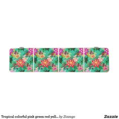 Zazzle's Pink beer pong tables will help you liven up any party. Beer Pong Tables, Yellow Flowers, Pink And Green, Clocks, Canvas Art, Tropical, Colorful, Pillows, Red