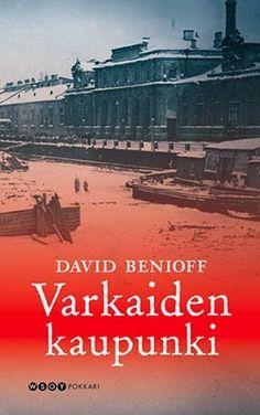 David Benioff: City of thieves | finnish cover | #davidbenioff #book #cover #bookcover #russia #worldwar #stpetersburg #winter