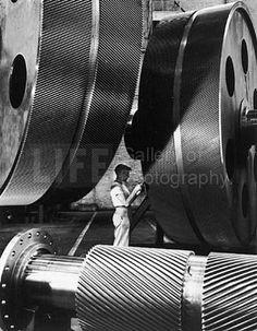 Alfred Eisenstaedt General Electric Turbine Plant, Schenectady, New York, 1940