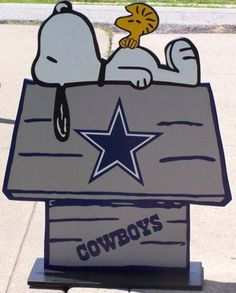 Dallas Cowboy Snoopy