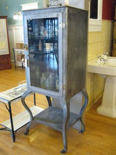 old dental cabinet