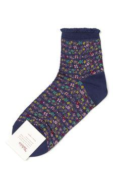 Tabio Petit Flower Socks
