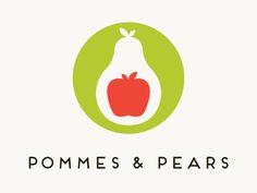 Logo -- pommes & pears // Richard Roberts