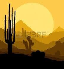 """Résultat de recherche d'images pour """"DESSIN COUCHER DE SOLEIL DESERT"""""""