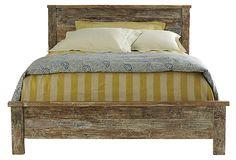 (love this one) Hampton Bed on OneKingsLane.com - buy it at http://www.colehawk.com/classic-home-furnishings-hampton-teak-calking-bed-54001284.html?cmp=bingshopping=classic-home-furnishings-hampton-teak-calking-bed-54001284