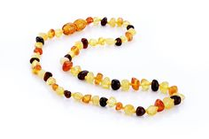 Ariz Products www.arizproducts.com Baltic Amber Teething Necklace, Beaded Necklace, Beaded Bracelets, Natural Pain Relief, Jewelry, Products, Beaded Collar, Jewlery, Pearl Necklace