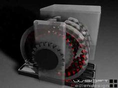 ▶ Magnet Motor Free-Energy -MWS 3D Testconstruction - YouTube