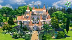Sims 4 CC's - The Best: Fairytale Castle by Melly