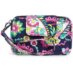 Vera Bradley Smartphone Wristlet 2.0 in Petal Paisley ($34) ❤ liked on Polyvore featuring accessories, tech accessories, petal paisley, tech, vera bradley, iphone wristlet, vera bradley wristlet, evening wristlet and smart phone wristlet