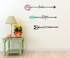 Freedom arrow wall decal inspirational wall by ValdonImages, $38.00  #homedecor…