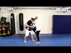 Technique Of The Week - How To Throw Knees in the Clinch - YouTube