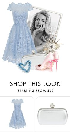 """""""Untitled #3020"""" by julinka111 ❤ liked on Polyvore featuring Chi Chi, Alexander McQueen, Sophia Webster, women's clothing, women, female, woman, misses and juniors"""