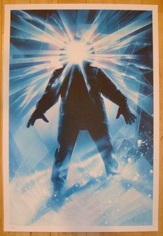 "2012 ""The Thing"" - Silkscreen Movie Poster by Drew Struzan"