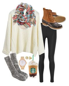 """""""Don't Let the noise of other peoples opinions drown out your inner voice"""" by robramey17 ❤ liked on Polyvore featuring NIKE, L.L.Bean, J.Crew, Aerie, Kate Spade and My Name Necklace"""