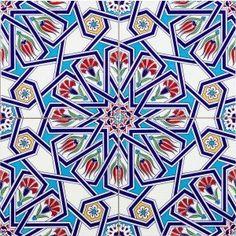 Set of 4 Hayat Turkish Tiles