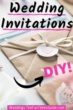 Wedding invitations can be really expensive... to buy. One way you can save money on your wedding invitations is to make them yourself at home! Here are some tips & tools for DIY wedding invitations to get you started. #diywedding #weddingbudget #weddinginvitations #weddingdiy