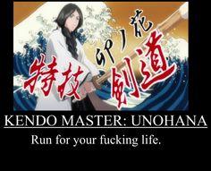 Unohana: The Kendo Master by TresSharkEspada on DeviantArt